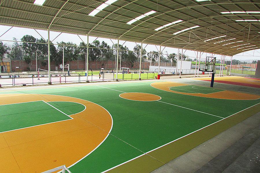 Lima sur villa deportiva avantgard for Plano de villa el salvador