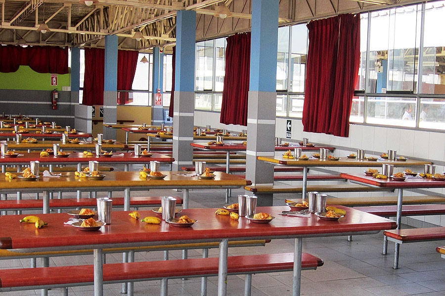 Lima sur sede industrial for Comedor estudiantil